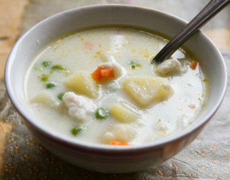 Протёртый рыбный суп (Кубинская кухня)
