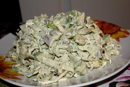 Рецепт Скандинавский селедочный салат