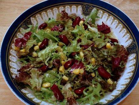 Рецепт Салат из фасоли по-датски