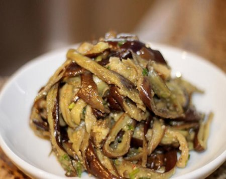 Рецепт Баклажанный салат по-корейски