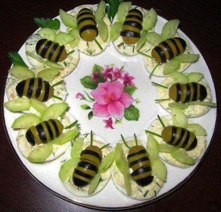 Рецепт Удивительные пчелки