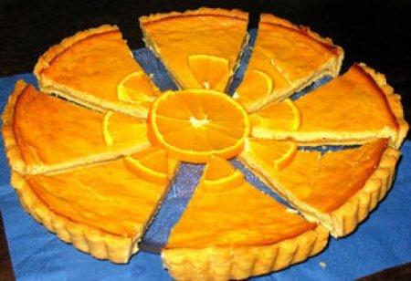 Рецепт Медово-цитрусовый творожный пирог