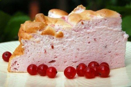 """Рецепт Торт """" Розовое облако"""""""