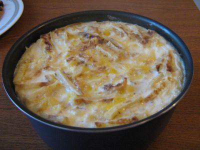 Рецепт Запеканка из баранины с лапшой