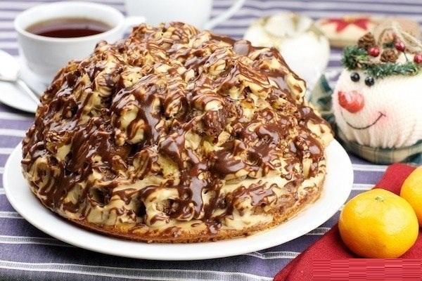 Торт вишня персик фото 5