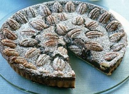 Рецепт Шоколадный пирог с орехами  пекан