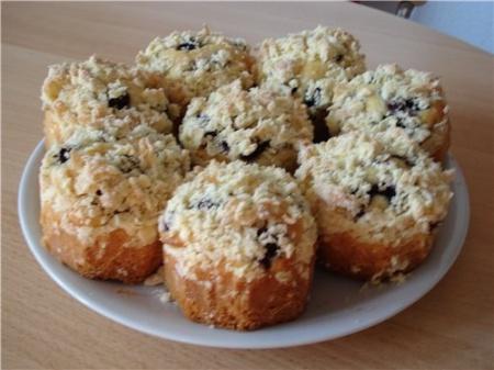 Рецепт Пирожные с ежевикой