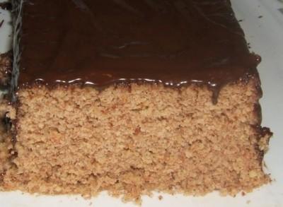 Рецепт 5-минутный ореховый торт без муки и масла в микроволновке