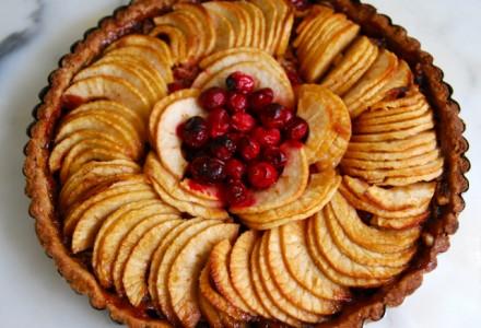 Рецепт Яблочная кростата