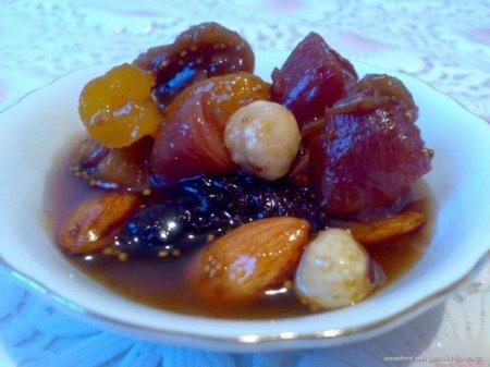 Рецепт Варенье из инжира с фундуком и лимоном