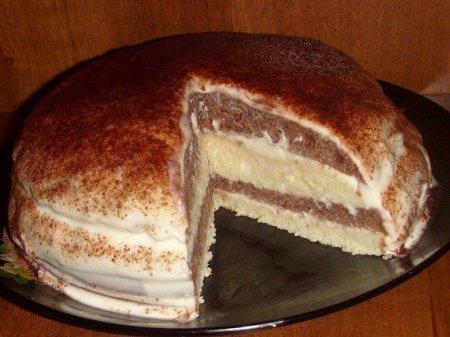 Рецепт Тортик на кефире
