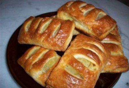 Рецепт Кармашки с яблоками