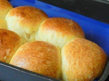 Рецепт Пышные творожные булочки на дрожжах