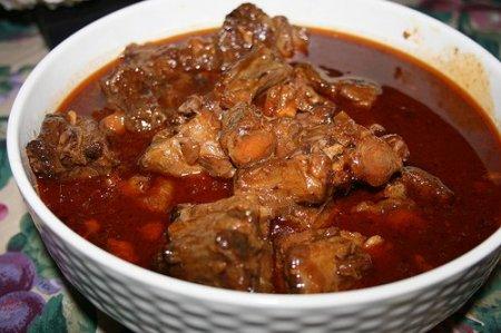 Рецепт Суп-гуляш из бычьих хвостов