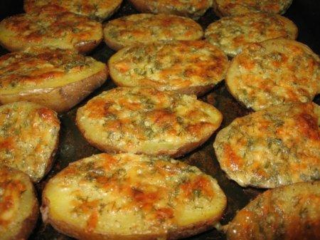 Рецепт Чесночная картошка