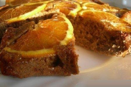 Рецепт Кофейный пирог с апельсинами