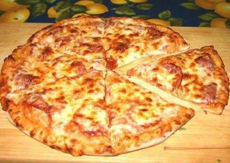 Рецепт Пицца очень быстрая