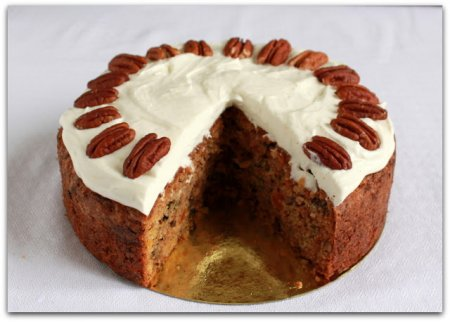 Рецепт Кекс из цуккини с орехами пекан