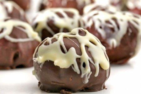 Рецепт Кокосово-ореховые конфеты в темном шоколаде