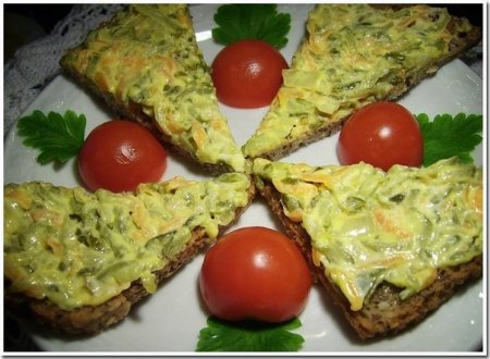 Рецепт Закуска из жареных соленых огурцов