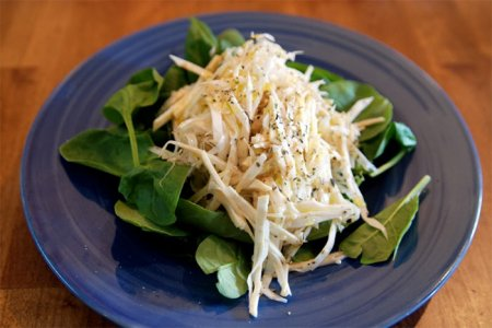 Рецепт Салат с телятиной и сельдереем