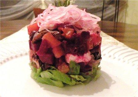 Рецепт Французский свекольный салат