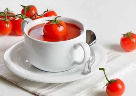 Рецепт Холодный томатный суп Гаспачо - испанская кухня