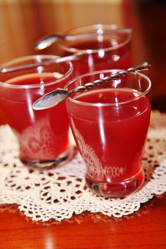 Кисель из вишневого варенья рецепт