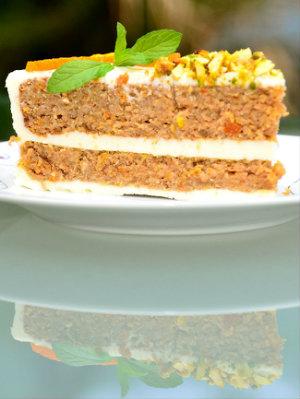 Рецепт Апельсиновый торт с орехами