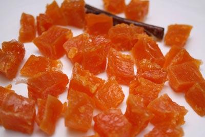 Рецепт Желейные конфеты из тыквы