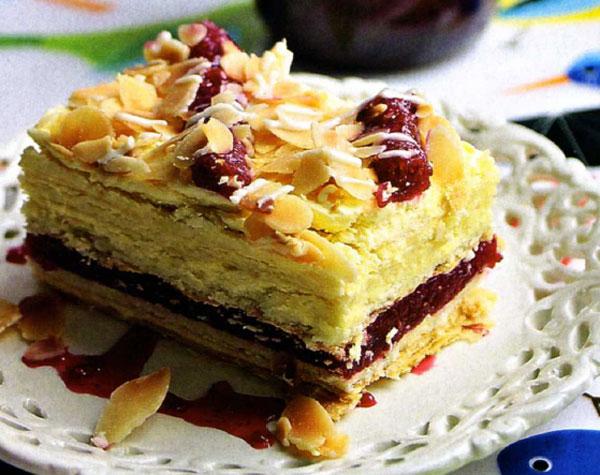 пирог из слоеного теста с вареньем рецепт с фото