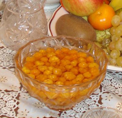 Рецепт Варенье из морошки