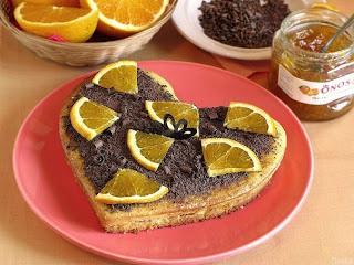 Рецепт Постный апельсиновый бисквит