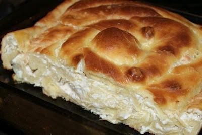 Рецепт Болгарский пирог с сыром