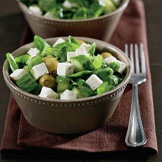 Рецепт Зеленый греческий салат
