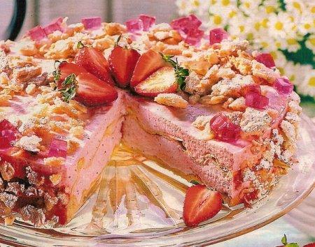 Рецепт Клубничный торт Кампари