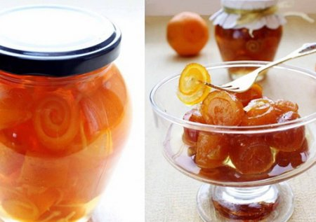 Рецепт Варенье из апельсиновых корок «Завитушки»