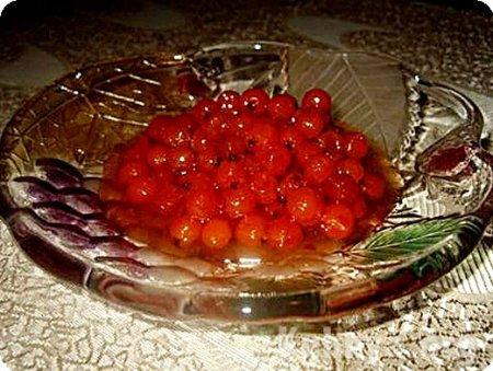 Рецепт Варенье из красной рябины