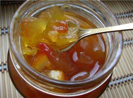 Рецепт Джем из лимона, арбуза и севильского апельсина