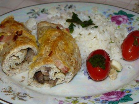Рецепт СУПЕРленивый бризоль или мясной омлет