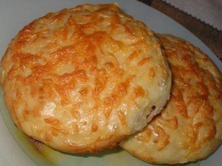 Рецепт Булочки посыпанные сыром