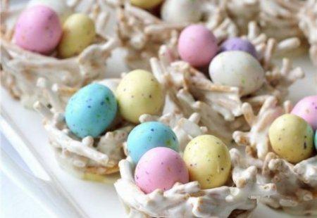 Рецепт Пасхальные гнезда