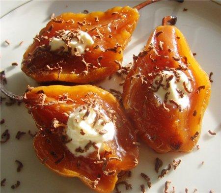 Рецепт Варенье из груш в сиропе из розмарина,тимьяна и меда