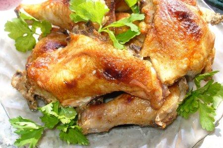 Рецепт Курица запеченная в духовке «Красна девица»