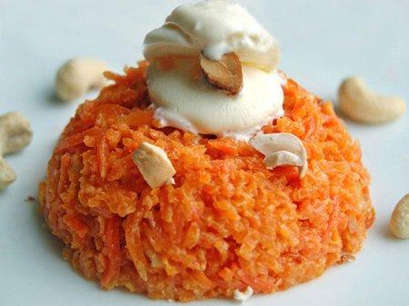 Рецепт Морковный пудинг