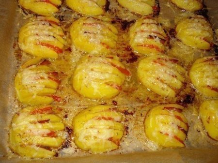 Рецепт Картофельные ракушки