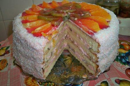 """Рецепт Бисквитный торт """"Дедушка"""""""