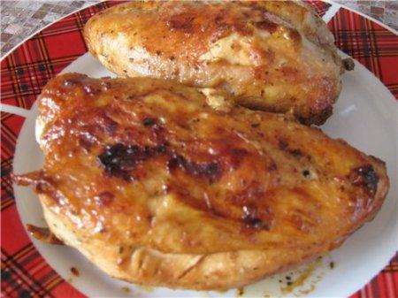 Рецепт Буженина из куриной грудки