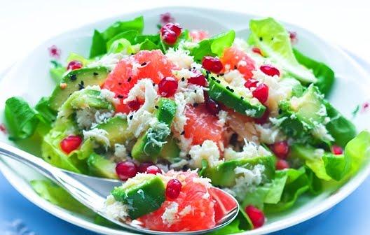 салат с крабами рецепт