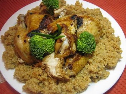 Рецепт Цыпленок по-восточному